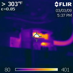 Infrared Thermal Analysis: Overheating Electrical Breaker